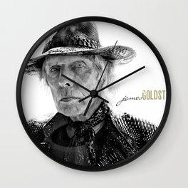 James Goldstein Wall Clock
