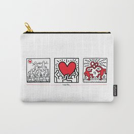 Keith Haring - Untitled (1987): Rare Limited Edition Carry-All Pouch