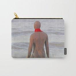 Gormley Iron Man (Digital Art) Carry-All Pouch