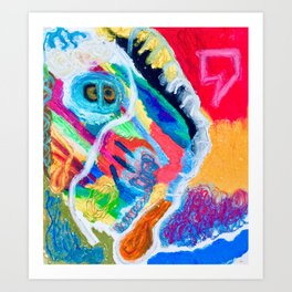 Close Captioned Owl Art Print