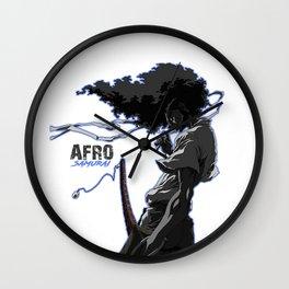 Afro Samuraiart Wall Clock