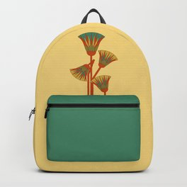 Ancient Egyptian lotus - Colorful Backpack