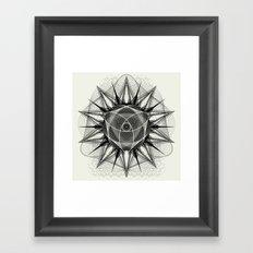 styr stryy monochrome Framed Art Print