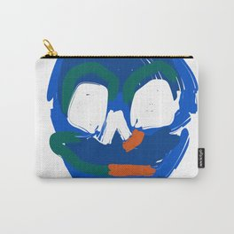 Painted Skull head Carry-All Pouch