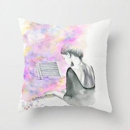 The Unwritten Song Throw Pillow