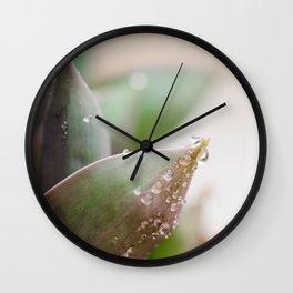 April Showers Wall Clock
