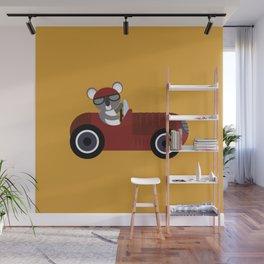Koala Racer Wall Mural