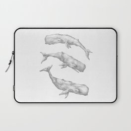 Three Little Whales Laptop Sleeve