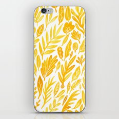 Dandelion Yellow iPhone & iPod Skin