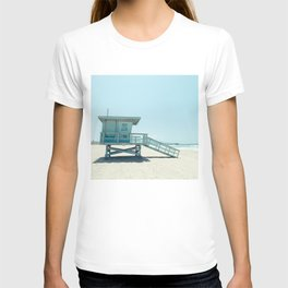 Hermosa Beach Lifeguard Tower 19 T-shirt