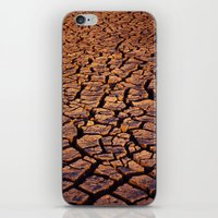 cracked iPhone & iPod Skins featuring Cracked by Dave Houldershaw