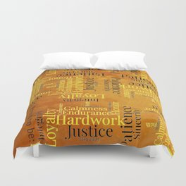 """Proud to be """"H"""" Duvet Cover"""