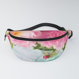 Vibrant Bouquet with filters Fanny Pack