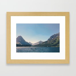 Paddle Out Framed Art Print