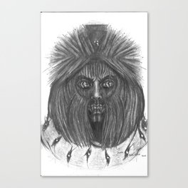 Ghoul Closet Canvas Print