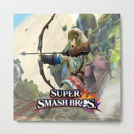 Super Smash Bros Metal Print