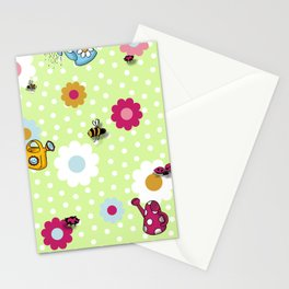 Bees & Beetles Stationery Cards