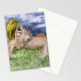 Sugar face nude 2 Stationery Cards