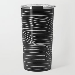 Minimal Circle Warp Travel Mug