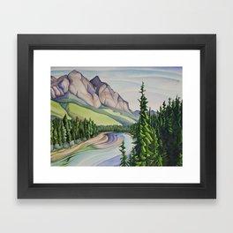 Rocky Mountain Majesty Framed Art Print