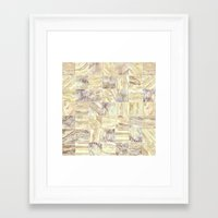 mosaic Framed Art Prints featuring Mosaic by Santo Sagese
