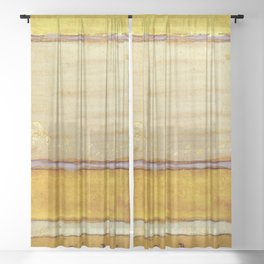 Colour Scheme For The Dining Room Of Aubrey House By James Mcneill Whistler   Reproduction Sheer Curtain