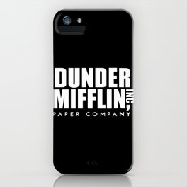 The Office Dunder Miflin iPhone Case