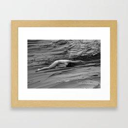 October's Chisel Framed Art Print