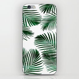 Tropical Palm Leaf iPhone Skin
