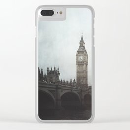 Moody London Vibes Clear iPhone Case