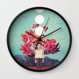 Standing at the Threshold of Time Wall Clock