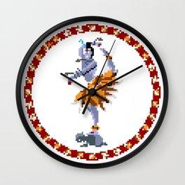 Lord of Dance - Pixel Art Wall Clock