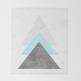 Arrows Collage Throw Blanket