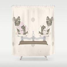 Las Lolas Shower Curtain