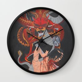 Karma Assassins II Wall Clock