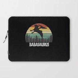 BABASAURUS BABA SAURUS BABA DINOSAUR Laptop Sleeve