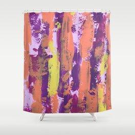 Paint (warm) Shower Curtain