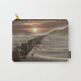 Fort Tilden Beach NYC sunset Carry-All Pouch