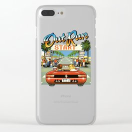 Outrun Clear iPhone Case