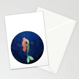 Deepwater mermaid Stationery Cards