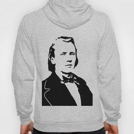 Johannes Brahms (1833 – 1897) in 1853 Hoody