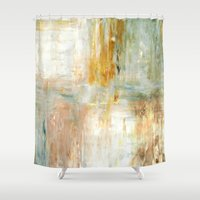 coffee Shower Curtains featuring Coffee by T30 Gallery
