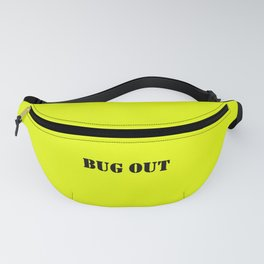 Neon Yellow + Bug Out Bag Design Fanny Pack