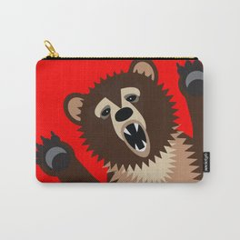 The Bear Says Boo Carry-All Pouch