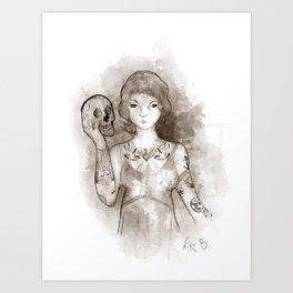Mi propia alma Art Print