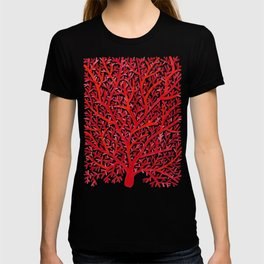 Red Fan Coral T-shirt