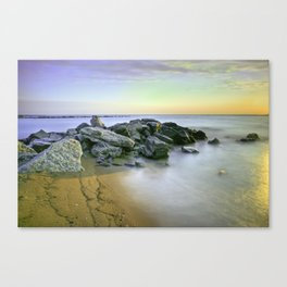 Sunrise at Sandy Point Canvas Print