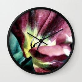 Tulip sensation Wall Clock