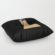 Alien Headwear Floor Pillow