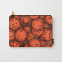Basketball balls pattern Carry-All Pouch